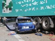 Mindelheim: Zwei Lkw-Unfälle auf der A 96: Frau stirbt