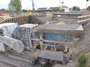 Tunnelneubau Nördlingen: Abriss bald fertig