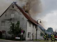 Kreis Neu-Ulm: Brand beschädigt historische Häuserzeile: Ursache wohl geklärt