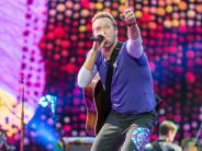 Konzert: Coldplay in München: Die kunterbunte Show-Maschine