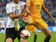 Confed Cup 2017: Pressestimmen zu Deutschland - Australien: Vorne top, hinten Flop