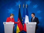 """EU-Gipfel: """"Mercron"""" - Merkel und Macron dominieren EU-Gipfel"""