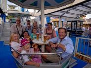 Nördlinger Mess´: Nördlinger Mess´: Weißwurstfrühstück im Riesenrad