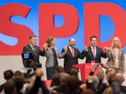 Bundestagswahl 2017: Parteitag: SPD beschließt einstimmig ihr Wahlprogramm