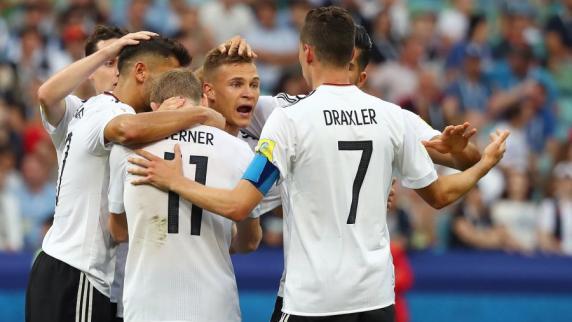 Confed-Cup 2017: Deutschland schlägt Kamerun und steht im Halbfinale gegen Mexiko