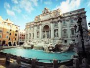 Italien: Wer im Trevi-Brunnen badet, muss Strafe zahlen