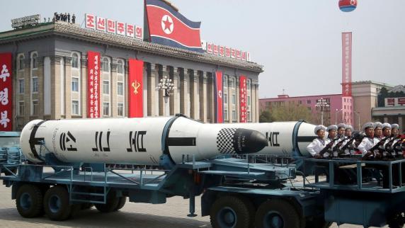 Nordkorea testet wieder eine Rakete
