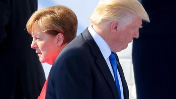 Interview: Experte: Trump hat Kränkung durch Merkel nicht vergessen