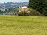 Nitrat: Zu viel Nitrat im Grundwasser: So sollen Bayerns Bauern helfen