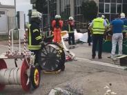 Neu-Ulm: Polizei ermittelt nach Salzsäure-Unfall gegen Staplerfahrer