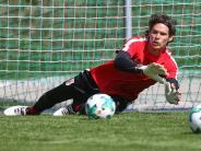"""FC Augsburg: """"Hat Marwin was gesagt?"""": FCA-Torwart schweigt und schweigt"""