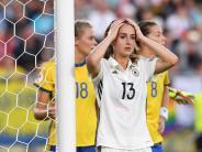 Frauen-Fußball-EM: Nur Unentschieden: DFB-Frauen starten enttäuschend in EM