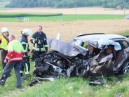 Nördlingen: Zwei schwere Unfälle bei Nördlingen
