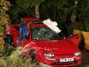 Ostallgäu: Drei Menschen sterben bei Unfall - ein Mitfahrer saß im Kofferraum