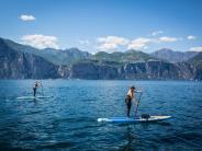 Gardasee: Den Lago erkunden mit Brett, Paddel und bester Aussicht