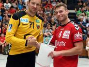 Günzburg: Handball VfL Günzburg gegen Füchse Berlin