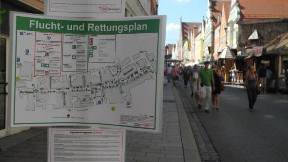 Donauwörth: Wie wirkte sich die Anschlags-Drohung aufs Reichsstraßenfest aus?