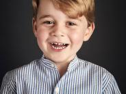 London: George feiert vierten Geburtstag - Palast veröffentlicht neues Foto