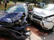 Kreis Neu-Ulm: Sechs Verletzte bei Auffahrunfall auf der A 7