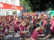 Augsburg: Gute Laune beim Jakobuslauf