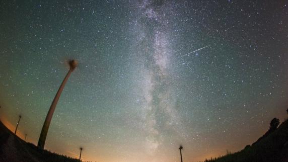 Im August regnet es tausende Sternschnuppen