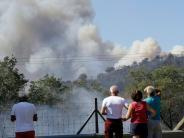 Südfrankreich: Rund 10.000 Menschen vor Waldbränden in Sicherheit gebracht