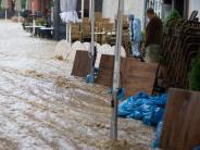 Dauerregen: Land unter in Bad Harzburg - Katastrophenalarm in Goslar