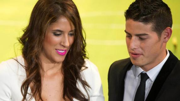 News-Blog: FC Bayern München: James Rodríguez und Ehefrau Daniela Ospina trennen sich