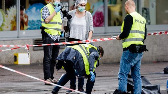 Hamburger Flüchtlingsheim nach Messerattacke durchsucht
