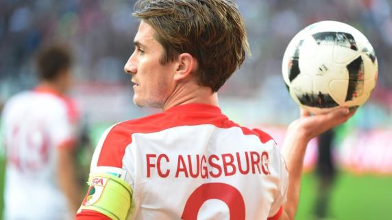 FC Augsburg: Heute wird Paul Verhaegh verabschiedet