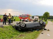 Kreis Neu-Ulm: Drei Schwerverletzte bei Unfall im Kreis Neu-Ulm