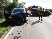 Nördlingen: Elf Verletzte bei Unfall mit mehreren Autos