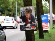Augsburg: Der Straßenwahlkampf in Augsburg ist in vollem Gang