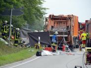 Unfall in Nagold: Müllwagen tötet fünf Menschen: Gemeinde richtet Spendenkonto ein
