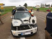 Kreis Donau-Ries: Verkehrsunfall in Minderoffingen: 16-Jährige verletzt