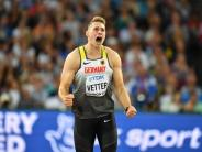 Leichtathletik-WM: Speerwerfer Vetter gewinnt WM-Titel - drei weitere Medaillen für Deutschland