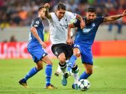 Champions League: Mutig, aber glücklos: Hoffenheim verliert erstes Playoff gegen Liverpool