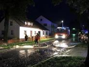 Donau-Ries: Otting bei Gewitter überschwemmt - 80 Keller liefen voll