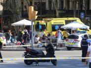 Spanien: Terror in Barcelona: Panik und Angst beherrschen die Rambla