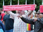 AfD: Merkel bei Wahlkampfauftritten in Sachsen und Thüringen beschimpft