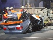 Kreis Lindau: Autofahrer prallt in Sigmarszell gegen eine Friedhofsmauer und stirbt