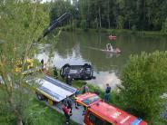 Lauingen: Autofahrerin stirbt in der Donau