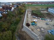 München: Mauer soll Wohngebiet vor Lärm aus Flüchtlingsheim schützen