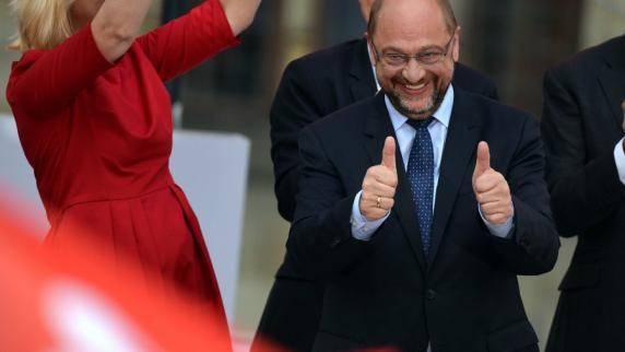 """Bundestagswahl 2017: Startschuss für die """"Martin Schulz live""""-Tour"""