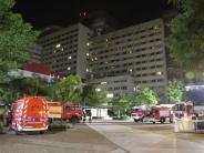 Augsburg: Großeinsatz im Klinikum: Drei Leichtverletzte nach Schwelbrand
