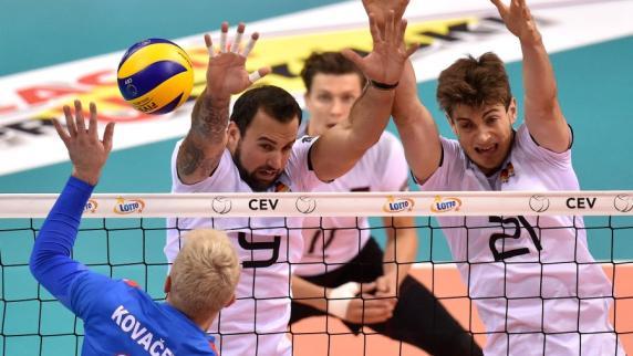 Volleyball: EM-Halbfinale am Samstag bei Sport1
