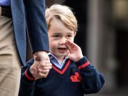 Erster Schultag: Britischer Adel: Prinz George geht jetzt in die Schule