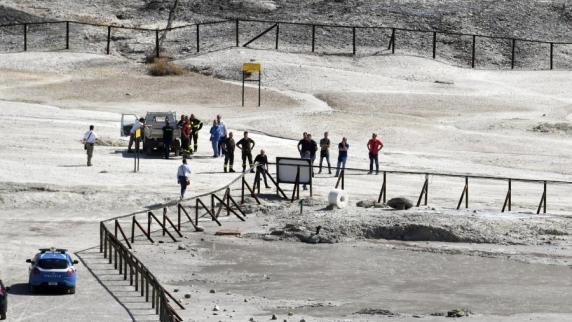 Eltern und Kind starben bei Sturz in Vulkankrater bei Neapel