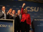 Bundestagswahl 2017: Wahlkampf in Augsburg: Beifall und Pfiffe für Angela Merkel