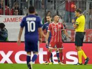 Pressestimmen: FC Bayern gegen Anderlecht: Ribéry war auf Krawall gebürstet